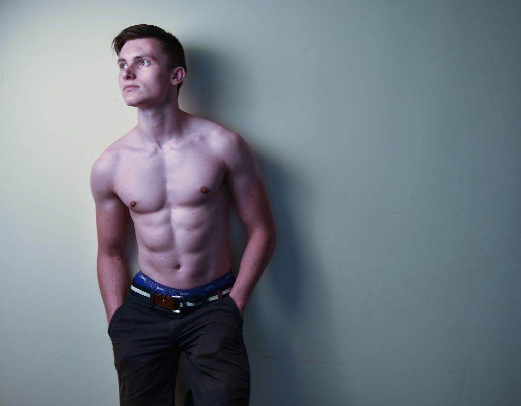 shirtless dude